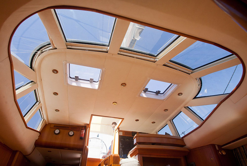 1PLEATEDOCEANAIRSHADE BLINDSTENDEPLISSETTATESTORE---Salon-Skylight